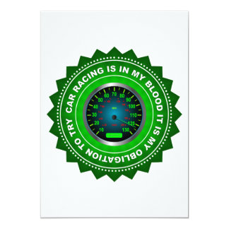 Fantastic Speed Shield 4 13 Cm X 18 Cm Invitation Card