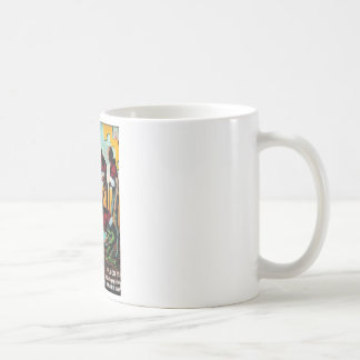 Fantastic Universe - 1957-4_Pulp Art Basic White Mug