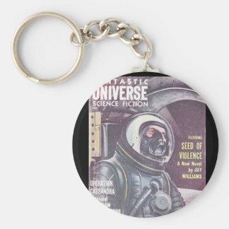Fantastic Universe v10 n05 (1958-11.King-Size)_Pul Basic Round Button Key Ring