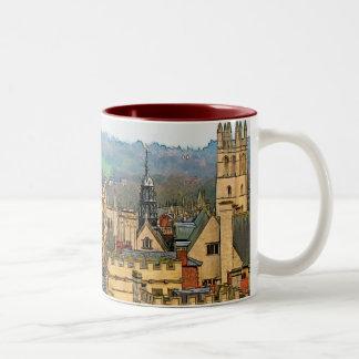 Fantastic View, Oxford, England, High Street #1 Two-Tone Mug