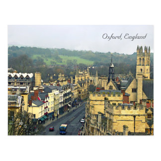 Fantastic View, Oxford, England, High Street #3 Postcard