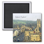 Fantastic View, Oxford, England, High Street #3 Square Magnet