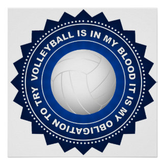 Fantastic Volleyball Shield 1 Poster