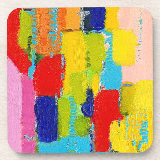 Fantastical Abstract Painting by Kris Taylor Drink Coasters