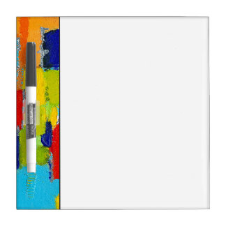 Fantastical Abstract Painting by Kris Taylor Dry-Erase Board