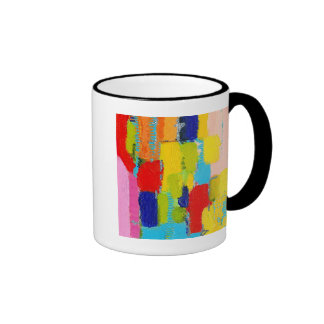 Fantastical Abstract Painting by Kris Taylor Coffee Mugs