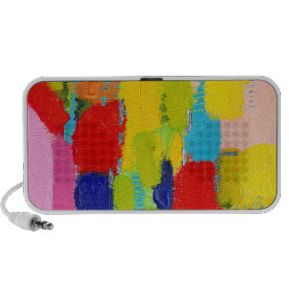 Fantastical Abstract Painting by Kris Taylor Notebook Speakers
