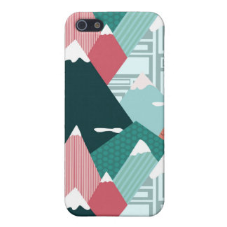 Fantastical Mountains iPhone 5/5S Case