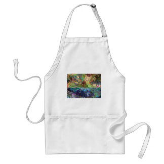 Fantasy Abstract Pure Digital Graphic Obsession Aprons
