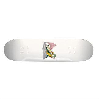 Fantasy Angry Fire Breather Dragon Skateboard Decks