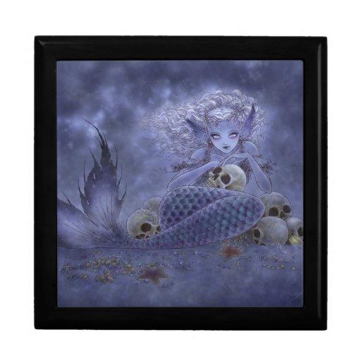 Fantasy Art Gift Box - Dark Mermaid