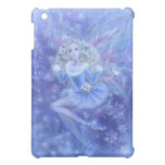 Fantasy Art iPad Case - Christmas Fairy in Blue