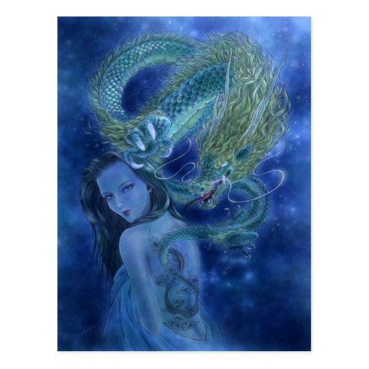 Fantasy Art Postcard - Dragon Lore
