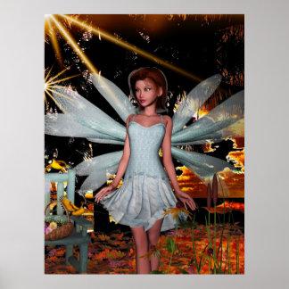 Fantasy Art Poster A Fairy Quiet Place