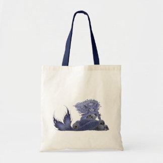 Fantasy Art Tote - Dark Mermaid Canvas Bags
