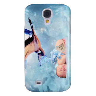 Fantasy baby and stork samsung galaxy s4 cases