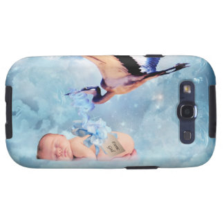 Fantasy baby and stork samsung galaxy SIII covers