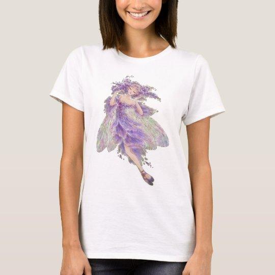 Fantasy Baby Doll T-shirt - Wisteria