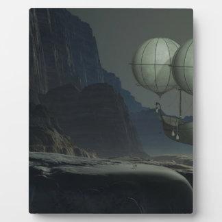 Fantasy Balloon ride Display Plaques