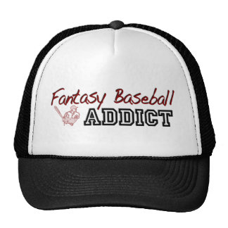 Fantasy Baseball Addict Trucker Hats