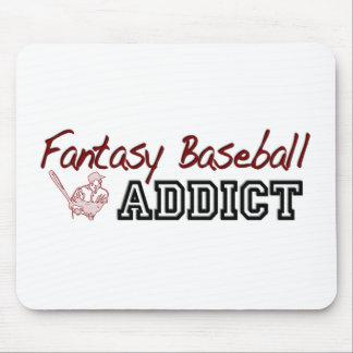 Fantasy Baseball Addict Mouse Pad