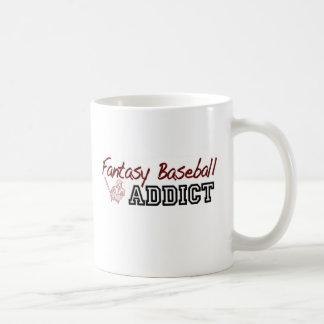 Fantasy Baseball Addict Mugs