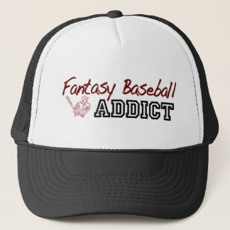 Fantasy Baseball Addict Trucker Hat