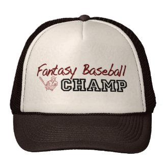Fantasy Baseball Champ Cap