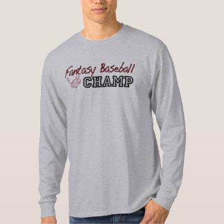 Fantasy Baseball Champ Tshirts