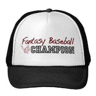 Fantasy Baseball Champion Cap