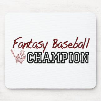 Fantasy Baseball Champion Mouse Pad