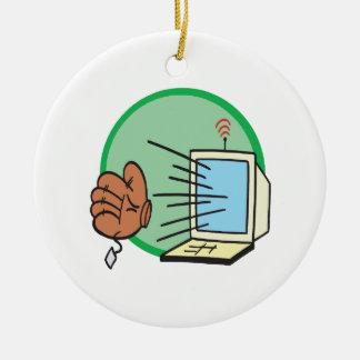 Fantasy Baseball Christmas Ornament