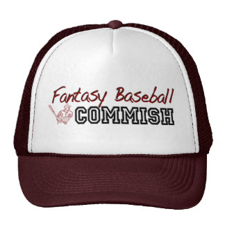 Fantasy Baseball Commish Cap