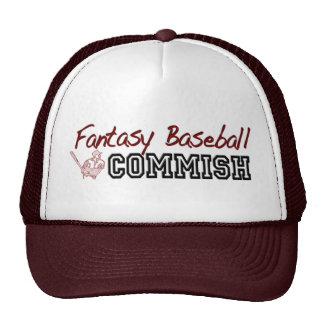 Fantasy Baseball Commish Trucker Hats