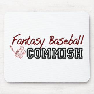 Fantasy Baseball Commish Mouse Pad