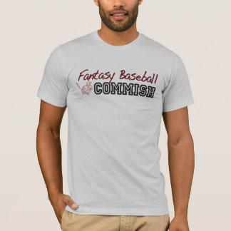 Fantasy Baseball Commish T-Shirt