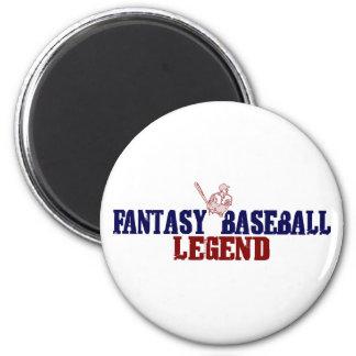 Fantasy Baseball Legend (2009) 6 Cm Round Magnet