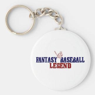 Fantasy Baseball Legend (2009) Basic Round Button Key Ring