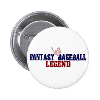 Fantasy Baseball Legend Buttons