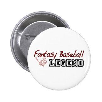 Fantasy Baseball Legend Pin