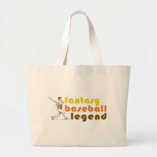 FANTASY-BASEBALL-LEGEND TOTE BAGS