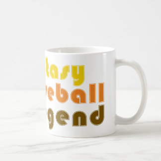 FANTASY-BASEBALL-LEGEND BASIC WHITE MUG