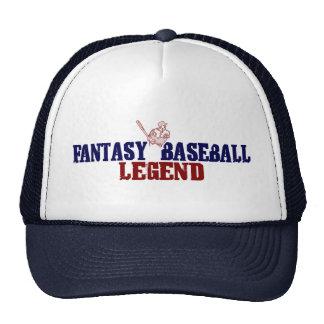 Fantasy Baseball Legend Cap