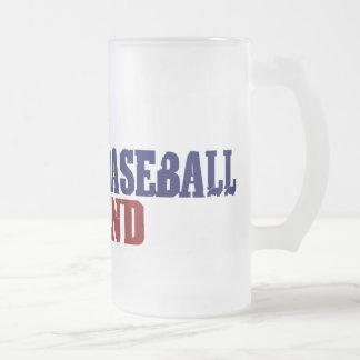 Fantasy Baseball Legend Frosted Glass Mug