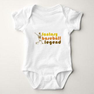 FANTASY-BASEBALL-LEGEND INFANT CREEPER
