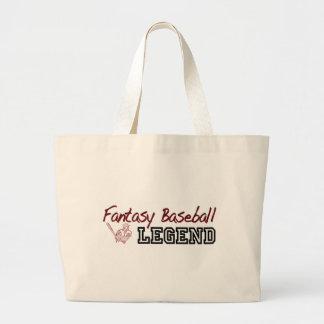 Fantasy Baseball Legend Jumbo Tote Bag