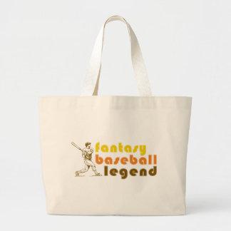 FANTASY-BASEBALL-LEGEND JUMBO TOTE BAG