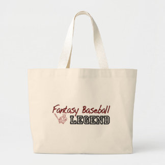 Fantasy Baseball Legend Tote Bags