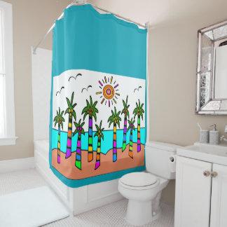 Fantasy Beach Shower Curtain