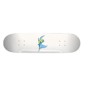 Fantasy Blue Dragon Skate Board Deck